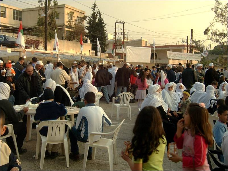Arabic festival in the Middle East